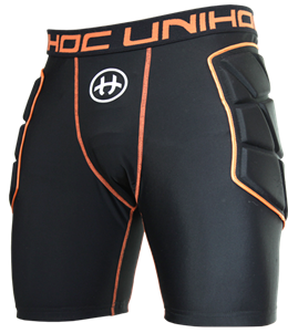 Målmands shorts - Unihoc Goalie FLOW, sort